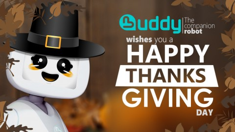 Happy Thanksgiving 2015 from BUDDY!