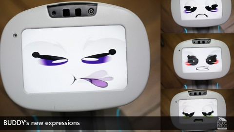 New Big Update: BUDDY's new expressions & faces, and the 3D camera