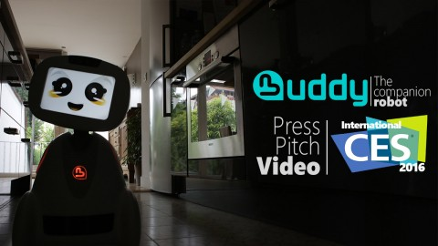 BUDDY Press Pitch of CES 2016′ video launch.