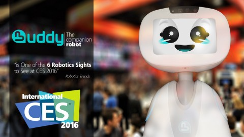 Buddy and Blue Frog Robotics at CES 2016