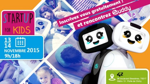 Meet Buddy at Startup for Kids (France)