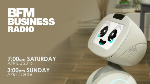 BLUE FROG ROBOTICS PRESENTS BUDDY AT BFM BUSINESS RADIO (FRANCE)