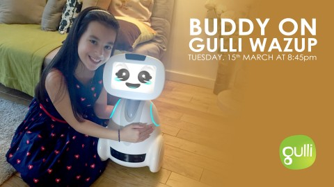 BUDDY on GULLI – WAZUP TV News
