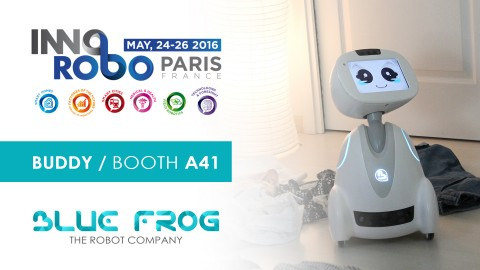 Meet BUDDY at Innorobo 2016 show