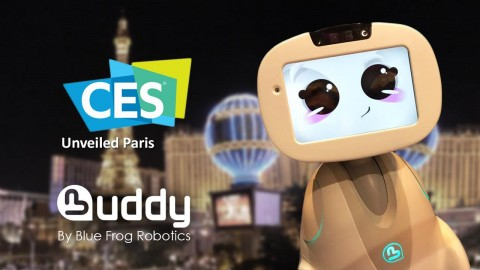 Blue Frog will present BUDDY at the CES Unveiled Paris