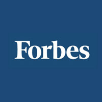 Forbes post with Buddy the robot