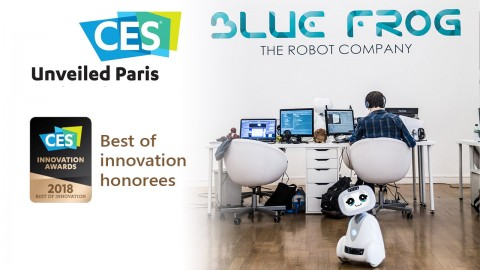 BUDDY lauréat d'un BEST OF INNOVATION Awards CES 2018