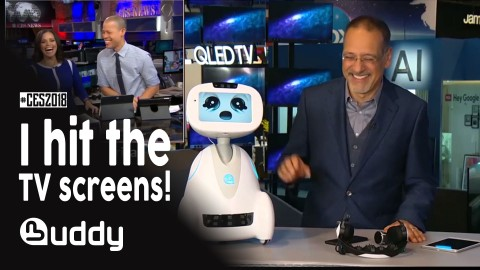(VIDEO) BUDDY, the companion robot, hits the TV screens at CES
