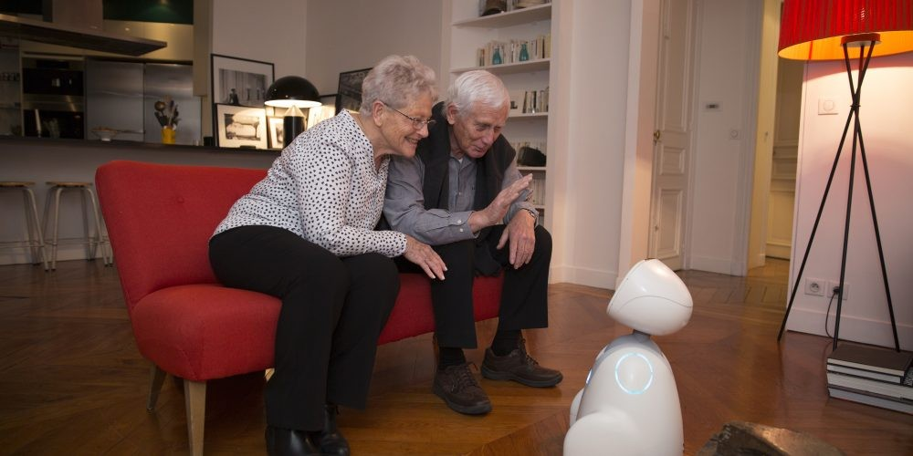 Buddy, The Emotional Robot, for Edlercare