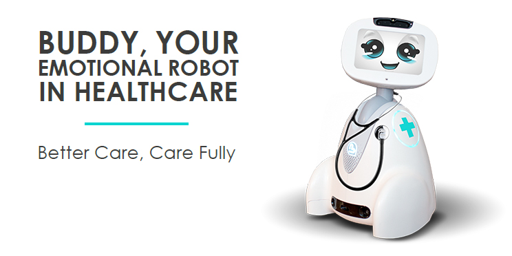 Buddy, The Emotional Robot, in Healthcare