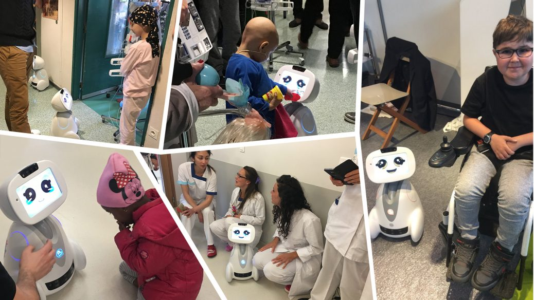 Buddy, The Emotional Robot, bringing Joy in Children's Hospitals